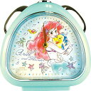 ティーズファクトリー 目覚まし時計 おむすび クロック アリエル ディズニー スイート フレンズ 6×13.7×13.5cm DN-5…