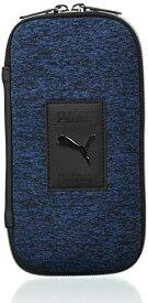 プーマ ペンケース ヘザーラウンドペンケース ブルー PM295BL