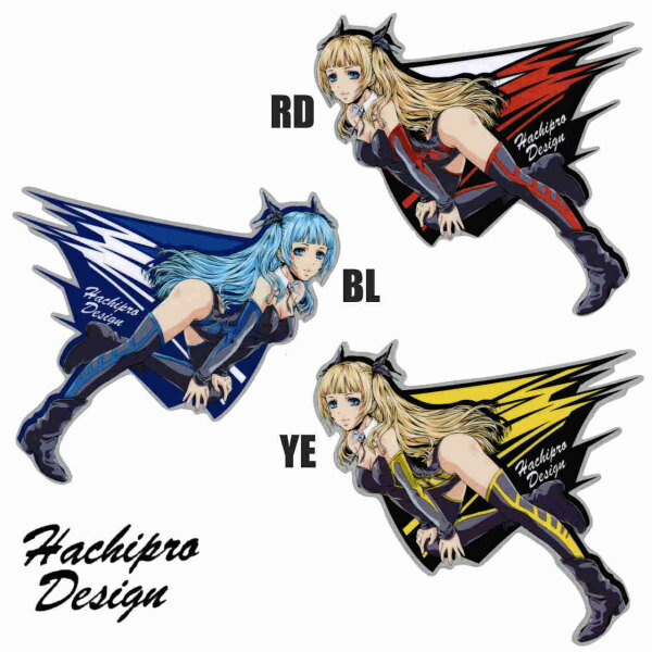 Hachipro Design ハチプロデザイン HPY-004 ヤマハたん リニューアル 2×2サイズステッカー 左右セットバイク・車・デカール・シール・YAMAHA・山葉 05P05Nov16
