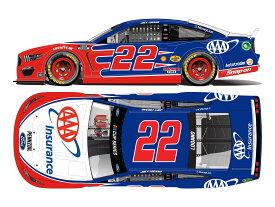 ライオネルレーシング 1/64 ジョーイ・ロガーノ #22 AAAインシュアランスフォード マスタング NASCAR 2021