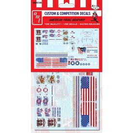 AMT 1/24&1/25 カーモデル用 アメリカン・グラフィックス カスタムデカールセット2