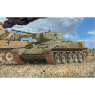 Cyber hobby 1/35 T-34/76 No. 112 factory WWII Krasnoe late type (translation and item)