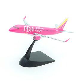 フジドリームエアラインズ 1/300 FDA エンブラエル 3号機 ピンク 塗装済み半完成キット