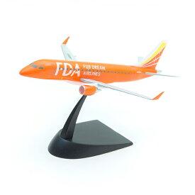フジドリームエアラインズ 1/300 FDA エンブラエル 5号機 オレンジ 塗装済み半完成キット