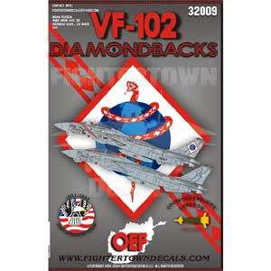ファイタータウンデカール 1/32 VF-102 F-14B ダイヤモンドバックス OEF