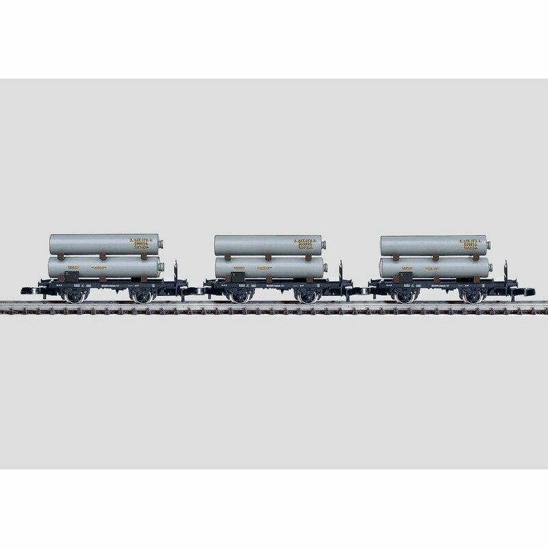 メルクリン 1/220 Zゲージ バイエルン王国鉄道ガス運搬3輌セット