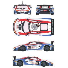 レーシングデカール43 1/24 マクラーレンMP-4-12c GT3 GTロシアンチーム カーNo.82 2014年スパ24時間 デカールセット