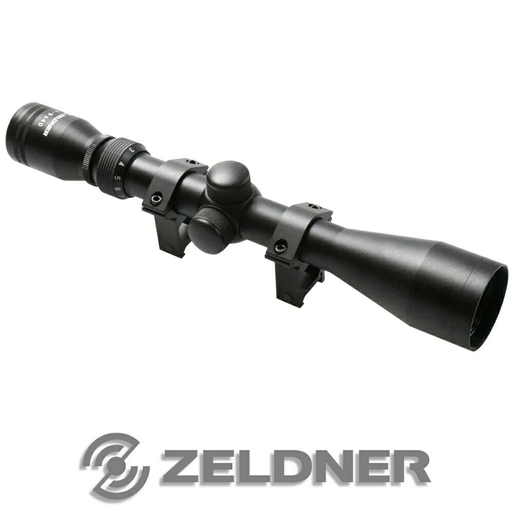 【送料無料】ライフルスコープ 3-9倍可変 アルミ製 スナイパー ライフル サバゲー スコープ 【ZELDNER(ゼルドナー)】