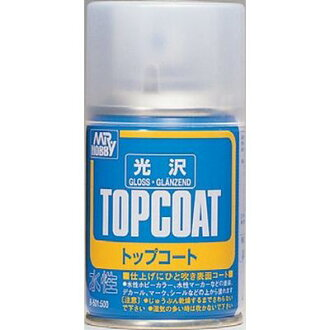 It is GSI Creos Mr. topcoat luster B501 to 1/18-25