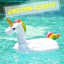 ユニコーンフロート 浮き輪 キッズ 子供用 足入れ付 ペガサス かわいい フロート うきわ 夏 海水浴 海 川 プール ビー…