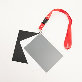 グレーカード 18% 3in1 デジタル ホワイトバランス カメラ 一眼レフ 色調整 ポータブルカードタイプ ROWデータ 【画像編集が楽ちん】【全国一律 送料無料】