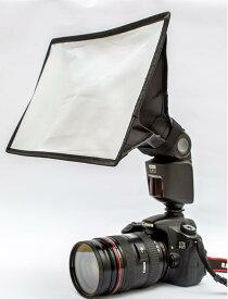折りたたみ式 ディフューザー スタジオフラッシュ用 ソフトボックス ストロボ ソフトボックス 一眼レフカメラ 撮影機材 1000円ポッキリ&送料無料