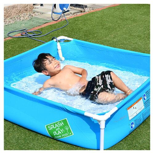 【空気入れ不要!】ビニールプールキッズプールフレームプール大型プール家庭用屋外用庭ファミリー水遊びペットにも夏ジャンボプールプール熱中症対策