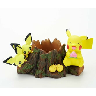 The series of Pokemon flower pot Chilling in the forest with Pikachu(In-Stock)
