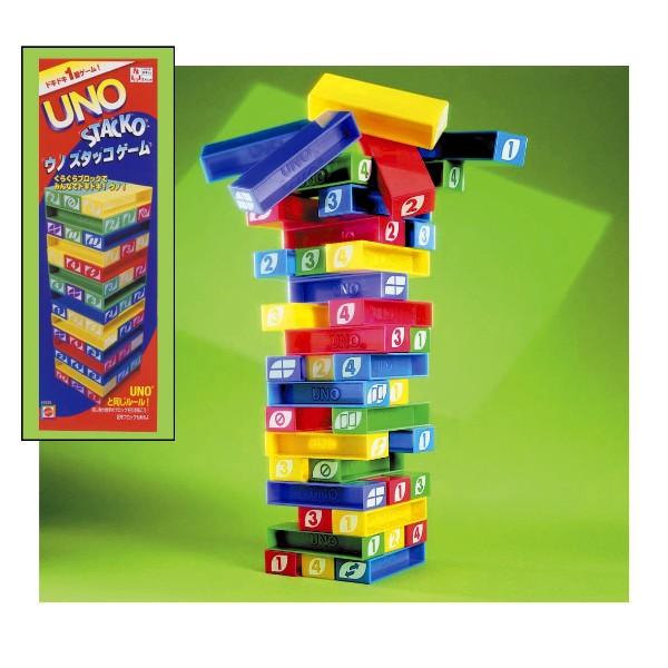 【取寄品】UNO ウノスタッコゲーム [カードゲーム/マテル・インターナショナル]【TC】