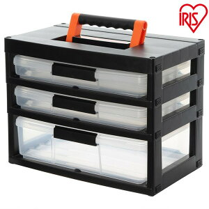 ツールケースストッカー TCR-421 ツールケース アイリスオーヤマ 収納ボックス 収納BOX 収納ケース 職人の車載ラック専用 収納 整理 すっきり 整理整頓 コンパクト シンプル 機能性 工具 工具