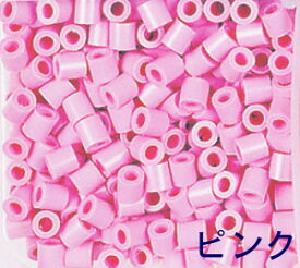 アイロンビーズ 単色 パーラービーズ 単色 5006 ピンク 単色 (1000ピース入)単色 図案 立体作品作りに 男の子向け 女の子向け おとこのこ おんなのこ 知育玩具 カワダ かわだ 5才から ビーズ遊び ハンドメイド【D】 【桃】【PN】