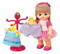 メルちゃんはじめてのおしゃれセットお人形つき3歳からパイロットインキままごと着せ替え人形女の子向けドールおもちゃお世話ごっこ遊び知育玩具【TC】ロングヘアメルちゃんとお洋服・おしゃれ小物がいっぱいのセット
