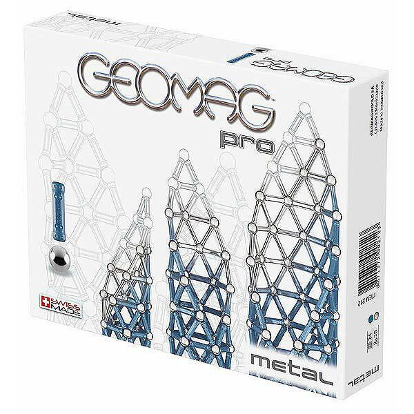 ゲオマグ 212 プロ メタル 44 【TC】【取寄品】【geomag 磁石で作るパズル 知育 リニューアル再販 スイス発玩具 幾何学 知育玩具】