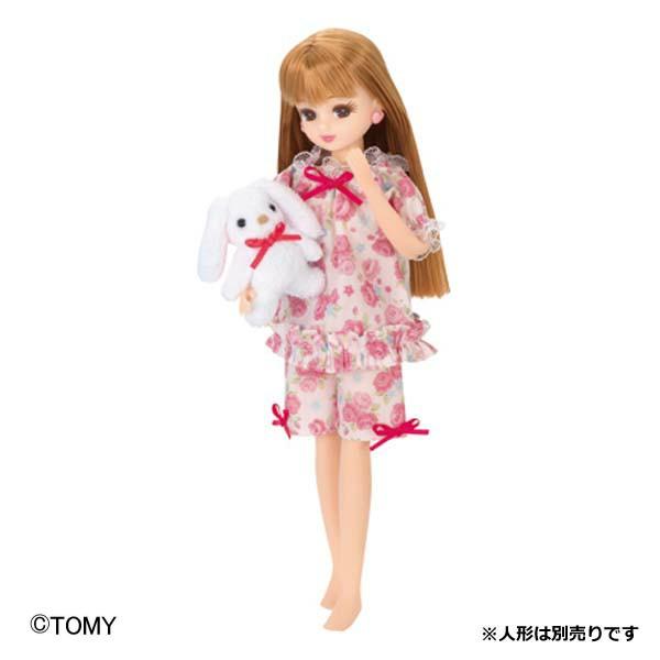 【着せ替え人形ドール】リカちゃん ゆめみるパジャマ(ドレス・衣装)【女の子向けおもちゃリカちゃん 人形】タカラトミーLW-05【TC】