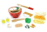 【木製おままごとウッディプッディ木製玩具女の子向け【取寄品】ディンギー初めてオママゴト麺料理セット(めん料理セット)ディンギー】