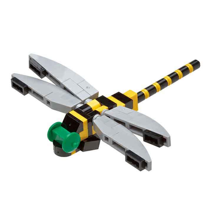 ナノブロックプラス nanoblock+ PBH-012 オニヤンマ ホビー おもちゃ ブロック つみき 昆虫 知育玩具 【TC】 【取寄品】【PN】