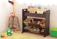 玩具箱えほん収納棚玩具箱収納収納玩具箱絵本ラック付トイハウスラック