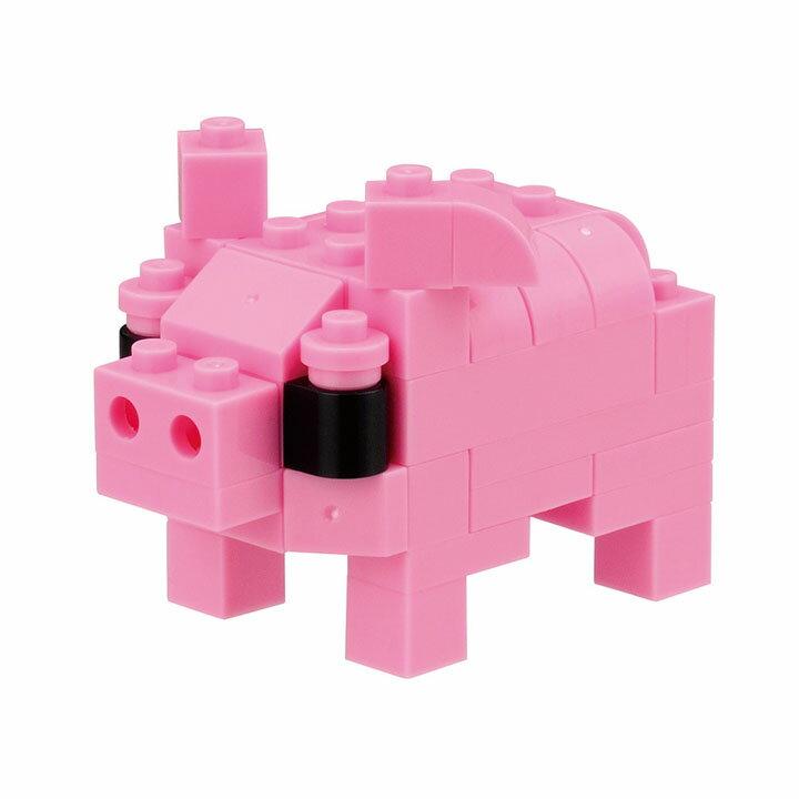 ナノブロックプラス nanoblock+ PBM-005 ブタ PBM-005ナノブロック ブロック 動物 おもちゃ ナノブロック動物 ナノブロックおもちゃ ブロック動物 動物ナノブロック おもちゃナノブロック 動物ブロック カワダ 【TC】【PN】