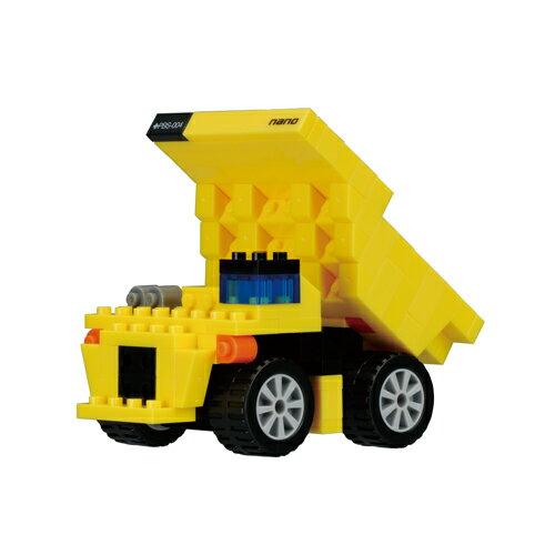 【ナノブロック nanoblock ホビー】ナノブロックプラス nanoblock+ PBS-004 ダンプカー【カワダ ブロック 知育玩具 積み木】【TC】【取寄品】【RCP】【0829_rec】【PN】