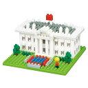 【予約品】【6月中旬発売】カワダ nanoblock ホワイトハウス NBH_144ナノブロック nanoblock ホワイトハウス ホビー …