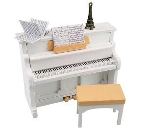 カワダ ナノルーム ピアノ NRL-001・NRL-002ナノルーム おもちゃ ピアノ 手作り カワダ ホワイト・ブラック【TC】ドールハウス ミニチュア 人形 ドールハウスキット 手作り ハンドメイド 趣味ホ