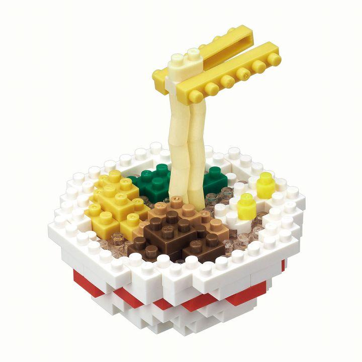 カワダ nanoblock ラーメン NBC_229ナノブロック おもちゃ ラーメン ホビー 【TC】フードシリーズ 食べ物【PN】