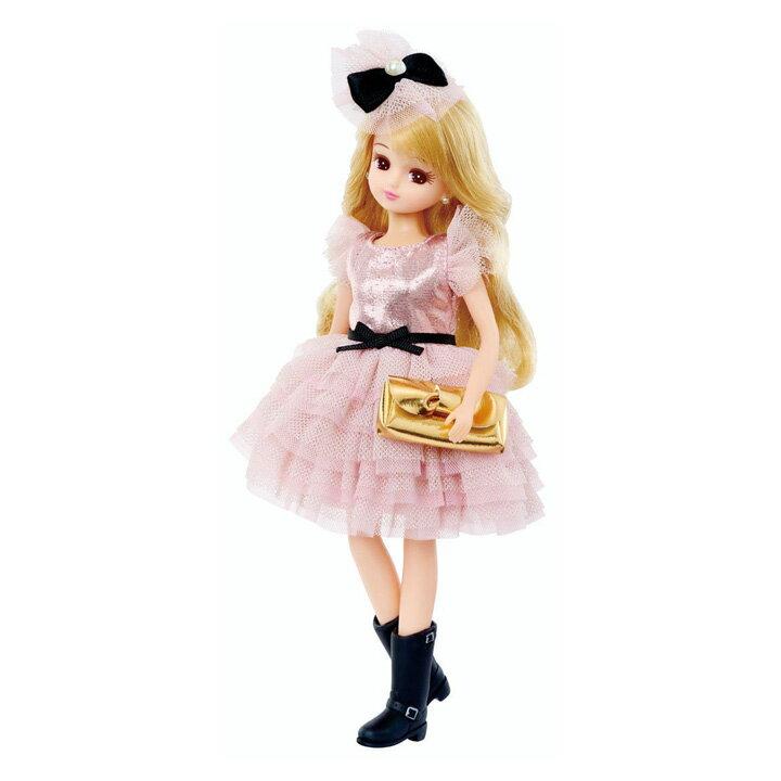 リカちゃん ビジューシリーズ ピンキーパーティ 女の子向け お人形遊び ドール おもちゃ タカラトミー 【TC】