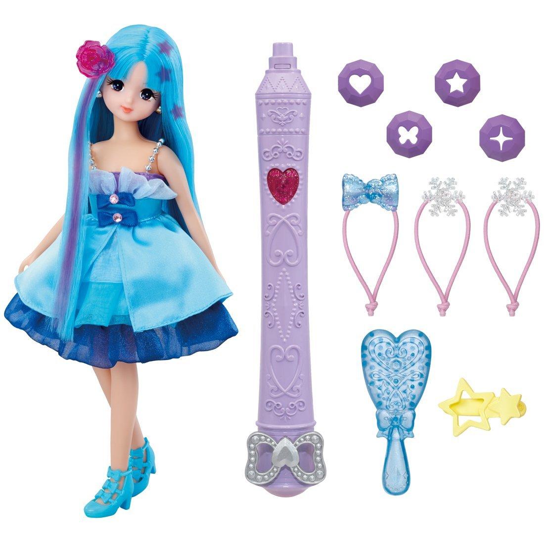 キラチェン さくらちゃん リカちゃんフレンドさくらちゃんふしぎなライトを髪にあてると色が変わる リカちゃん人形 髪遊び ドール 着せ替え 女の子 タカラトミー