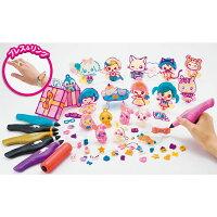アクセサリーメイキングトイ女の子おもちゃメガハウス3DドリームアーツペンキラめきアクセDXセット(6本ペン)メガハウス