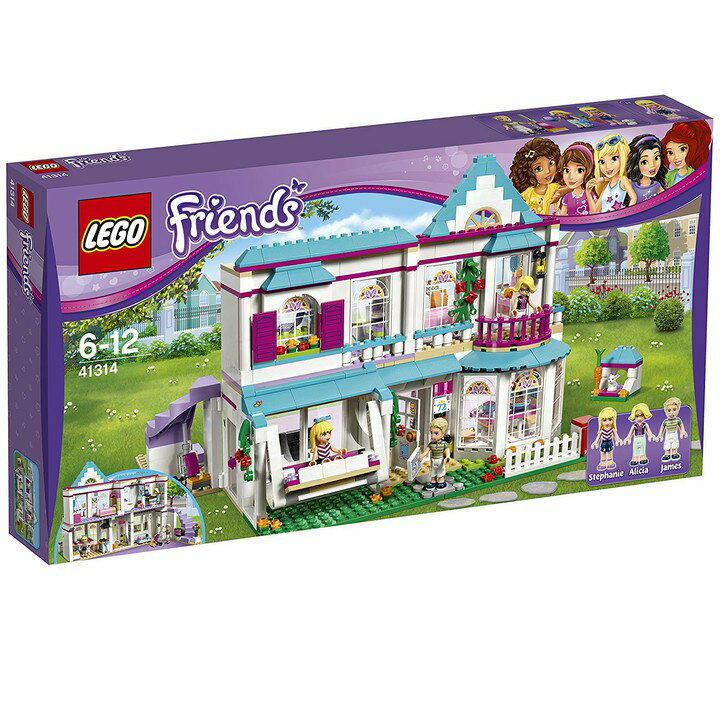 レゴジャパン フレンズ ステファニーのオシャレハウス 41314 送料無料 LEGO ブロック 女の子 おもちゃ レゴジャパン 【D】【取り寄せ品】【取り寄せにお時間頂く場合がございます】