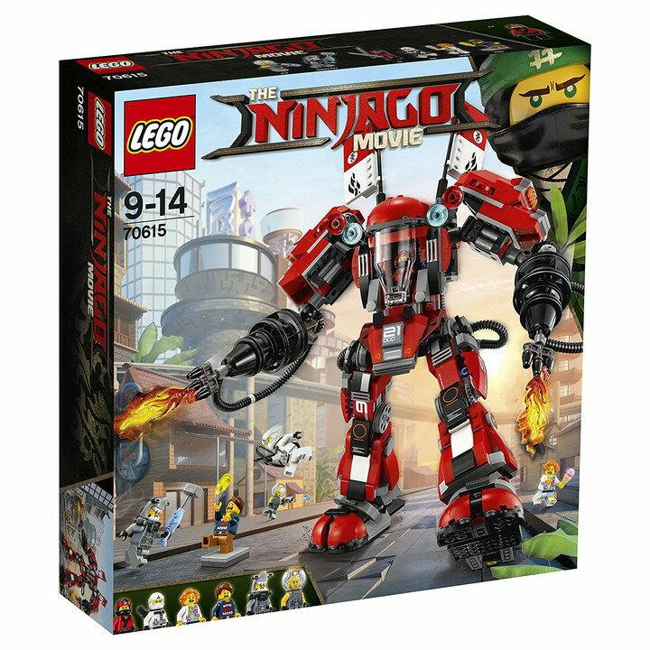 レゴジャパン ニンジャゴー カイのファイヤーメカ 70615 送料無料 LEGO ブロック 男の子 おもちゃ レゴジャパン 【D】【取り寄せ品】【取り寄せにお時間頂く場合がございます】
