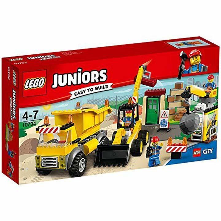 レゴ ジュニア シティ 工事現場セット 10734玩具 組立ブロック 遊び LEGO レゴジャパン 【TC】【取り寄せ品】【取り寄せにお時間頂く場合がございます】