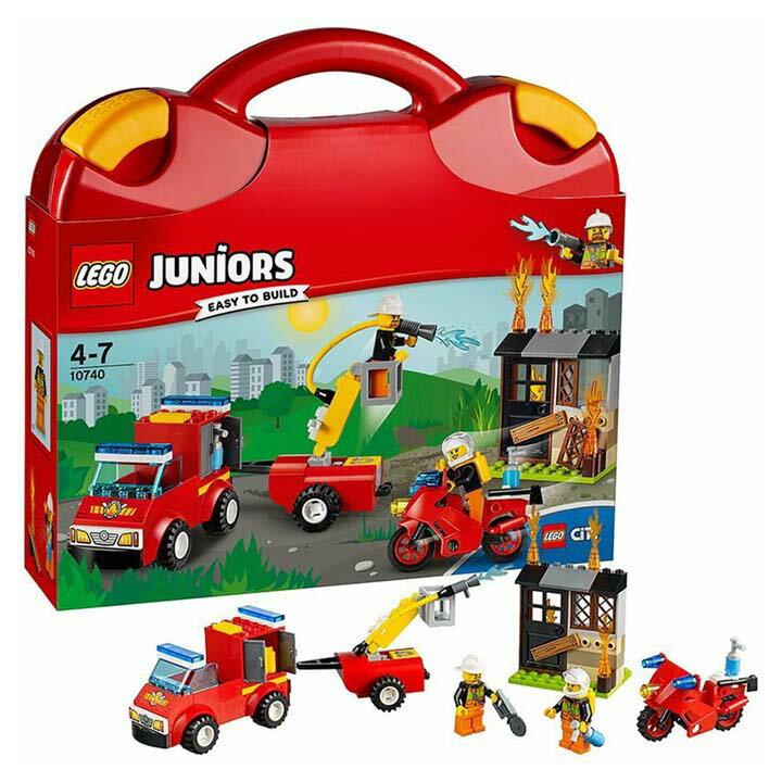 レゴ ジュニア シティ 消防隊セット 10740玩具 組立ブロック 遊び LEGO レゴジャパン 【TC】【取り寄せ品】【取り寄せにお時間頂く場合がございます】