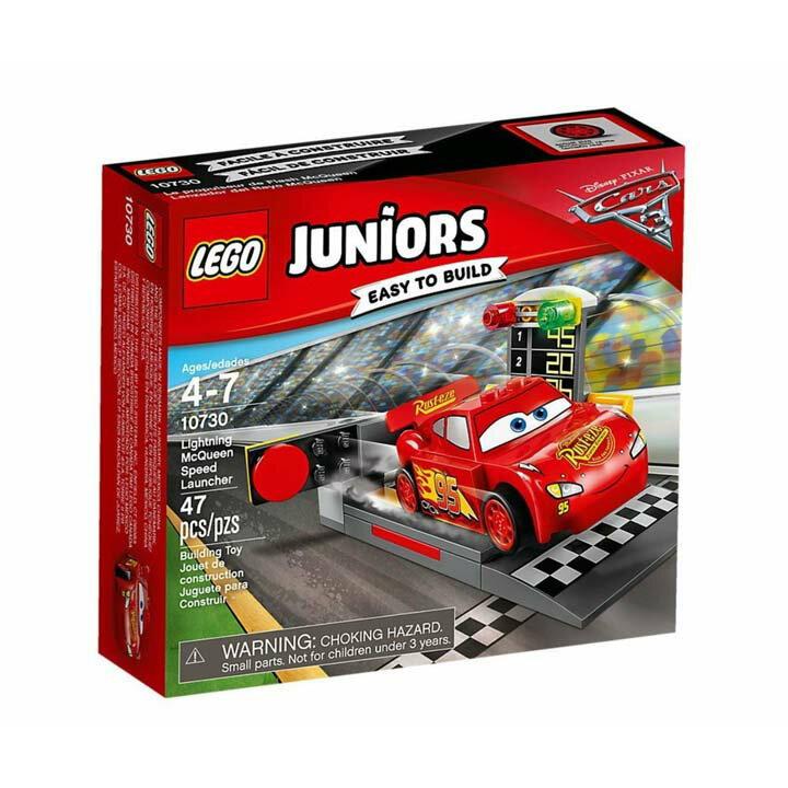 レゴ ジュニア ライトニング・マックィーンのスピードランチャー 10730玩具 組立ブロック 遊び LEGO レゴジャパン 【TC】【取り寄せ品】【取り寄せにお時間頂く場合がございます】