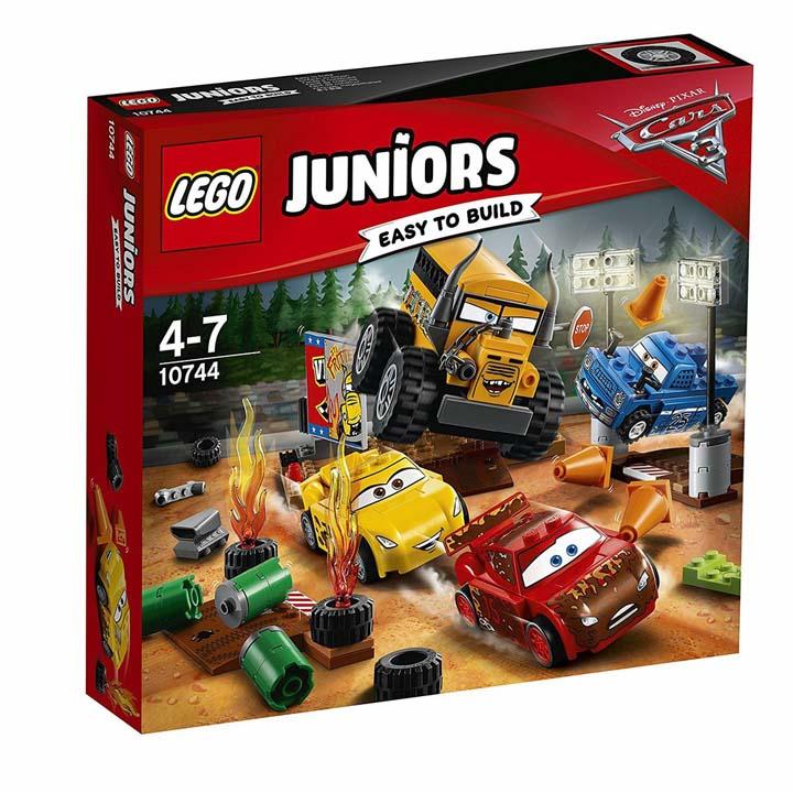 【在庫切れ】レゴ ジュニア サンダーホローのクレイジー8レース 10744送料無料 玩具 組立ブロック 遊び LEGO レゴジャパン 【TC】【取り寄せ品】【取り寄せにお時間頂く場合がございます】