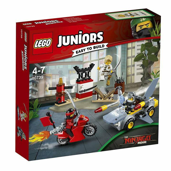 レゴ ジュニア シャークアタック 10739玩具 組立ブロック 遊び LEGO レゴジャパン 【TC】【取り寄せ品】【取り寄せにお時間頂く場合がございます】