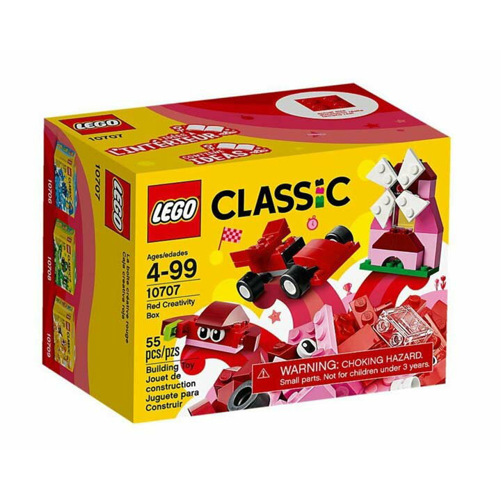 レゴ クラシック アイデアパーツ 赤 10707玩具 組立ブロック 遊び LEGO レゴジャパン 【TC】【取り寄せ品】【取り寄せにお時間頂く場合がございます】