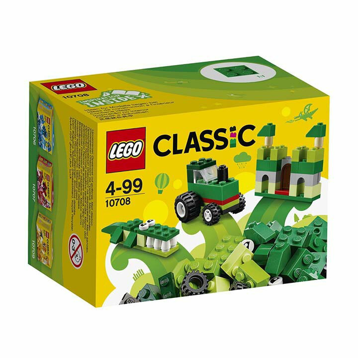レゴ クラシック アイデアパーツ 緑 10708玩具 組立ブロック 遊び LEGO レゴジャパン 【TC】【取り寄せ品】【取り寄せにお時間頂く場合がございます】