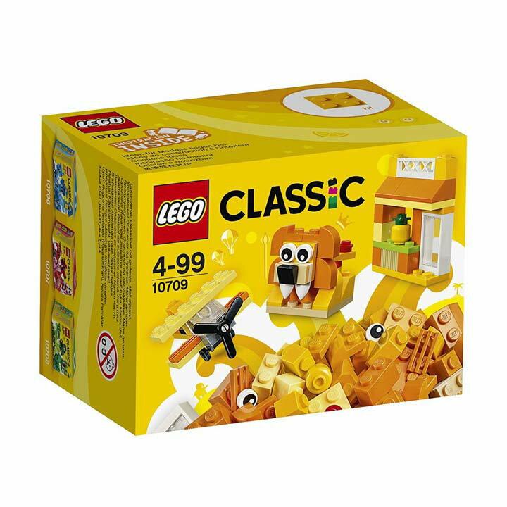 レゴ クラシック アイデアパーツ オレンジ 10709玩具 組立ブロック 遊び LEGO レゴジャパン 【TC】【取り寄せ品】【取り寄せにお時間頂く場合がございます】