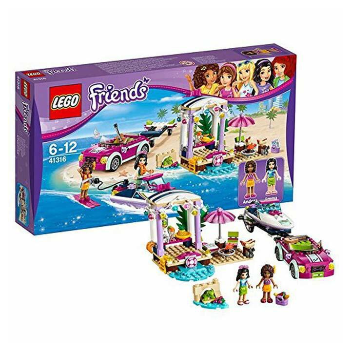 レゴ フレンズ ハートレイクのビーチバカンス 41316玩具 組立ブロック 遊び LEGO レゴジャパン 【TC】