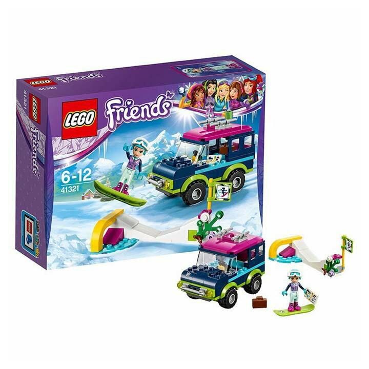 レゴ フレンズ スキーリゾート スノーボードトリップ 41321玩具 組立ブロック 遊び LEGO レゴジャパン 【TC】