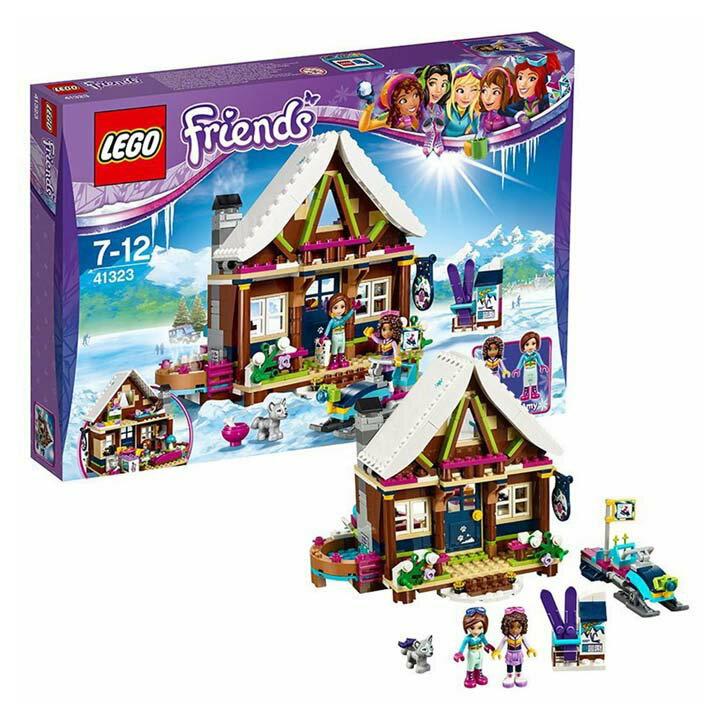 レゴ フレンズ スキーリゾート スノーロッジ 41323送料無料 玩具 組立ブロック 遊び LEGO レゴジャパン 【TC】