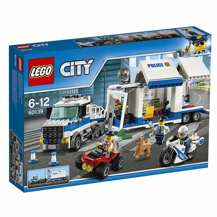 レゴ シティ ポリストラック司令本部 60139送料無料 玩具 組立ブロック 遊び LEGO レゴジャパン 【TC】