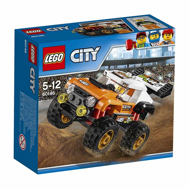 レゴ シティ スタントショートラック 60146玩具 組立ブロック 遊び LEGO レゴジャパン 【TC】
